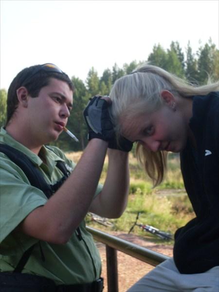 Ромашку в волосы - ближе к природе