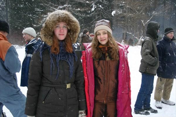 Катя и Ксюша