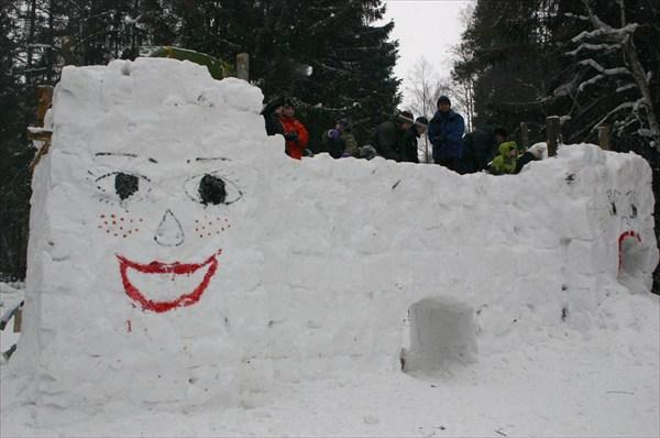 Снежная Печка