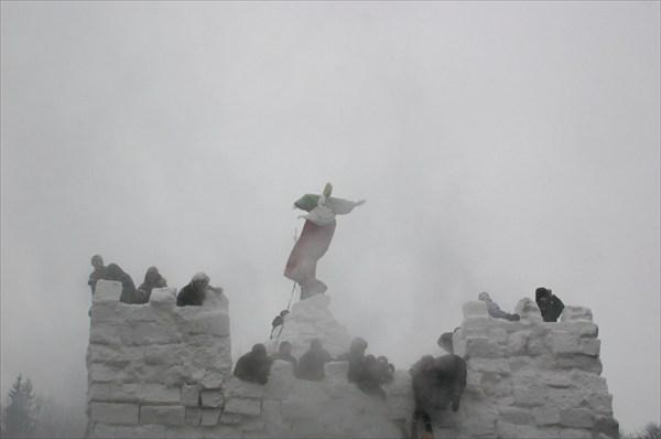 крепость пала