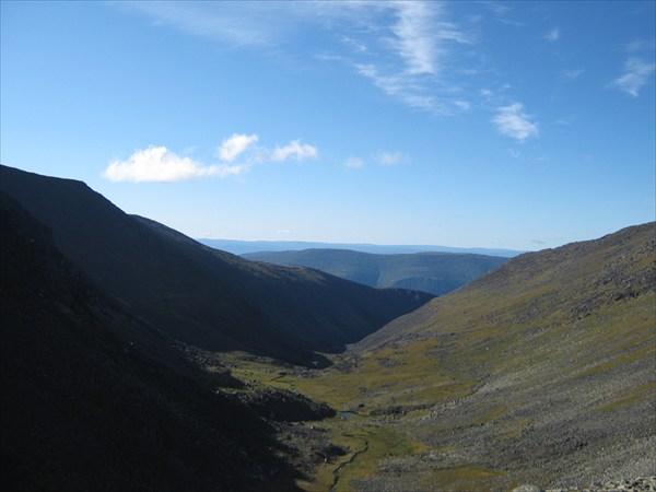 Вид с перевала с другой стороны