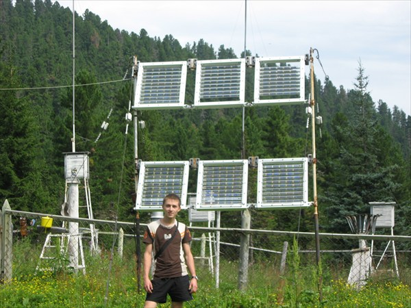 Солнечная электростанция Г.М.С. `Хамар-Дабан`