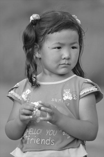 Девочка алтайка