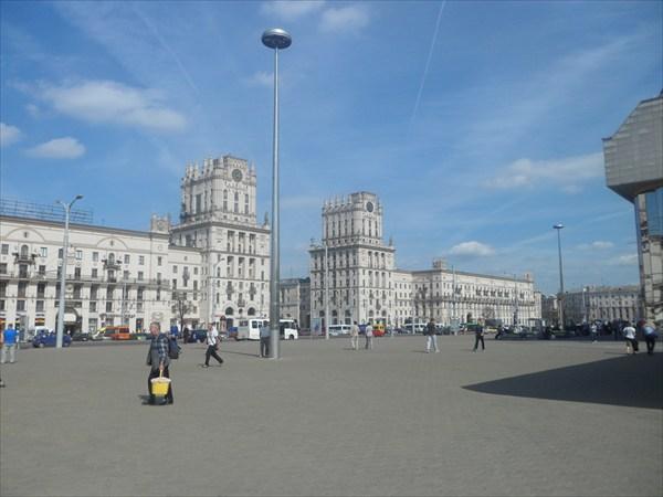 Минск привокзальная площадь