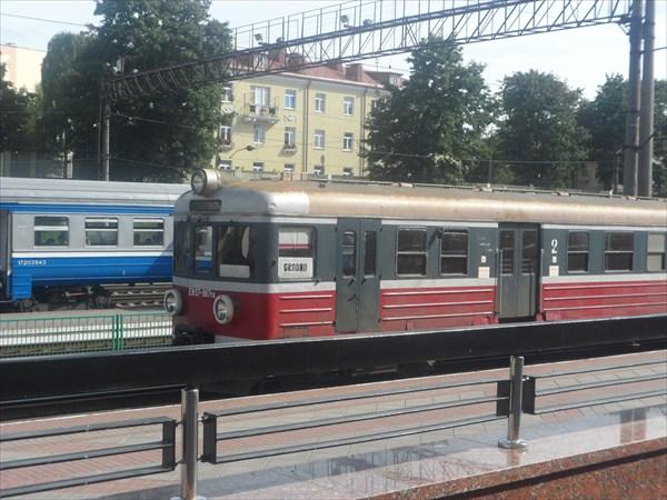 Польская электричка