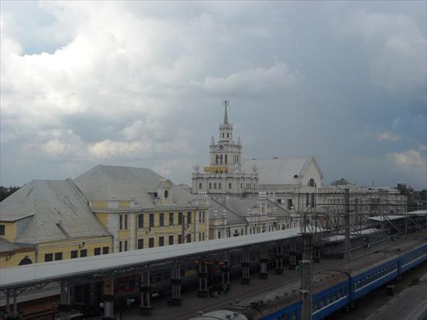 на фото: Вокзал Брест