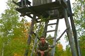 Сторожевая вышка охраняемого периметра одного из лагерей ГУЛАГа
