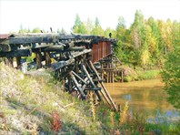 Мост через реку Идъяха.