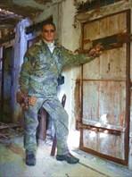 В карцере лагеря для заключённых.