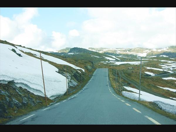 По дороге к горе Galdhopiggen