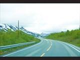По дороге к Гейрангер-фьорд