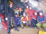Пещера Висячая 30.11.08. Ялтинская спелеосекция