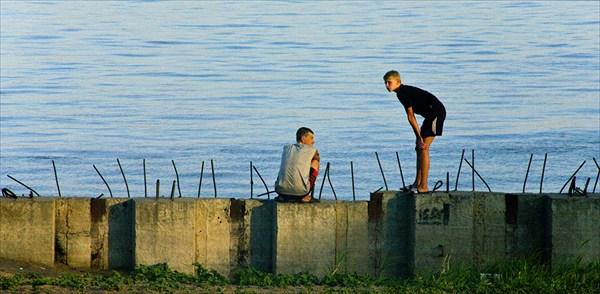 Саратовские рыбаки