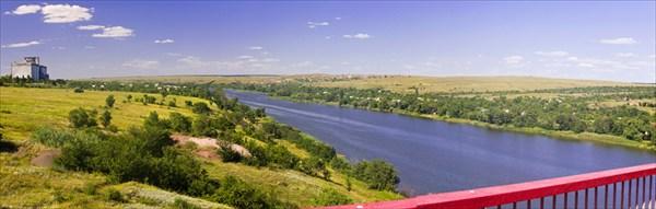 Речка Северский Донец
