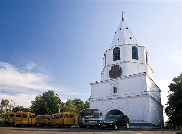 Спасская башня Сызранского кремля.