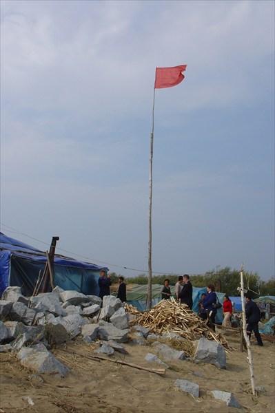 Китайский рыболовецкий стан
