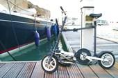 Складной велосипед яхтсмена