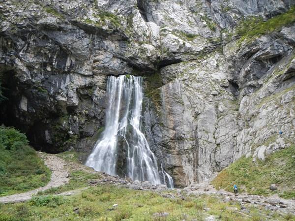Мощь Гегского водопада