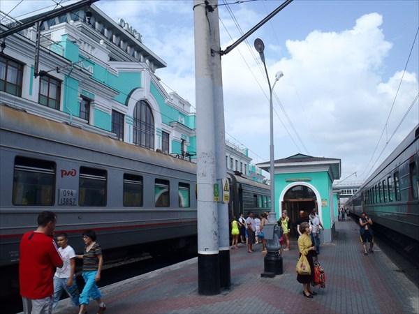 Ж.д. станция ОМСК