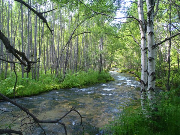 Река Большой Чивыркуй.