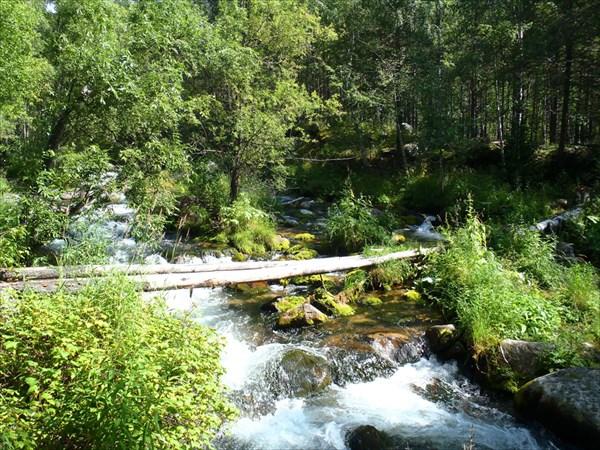 Переправа через реку Маркушкина.