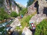 Каньон реки Большой Чивыркуй.