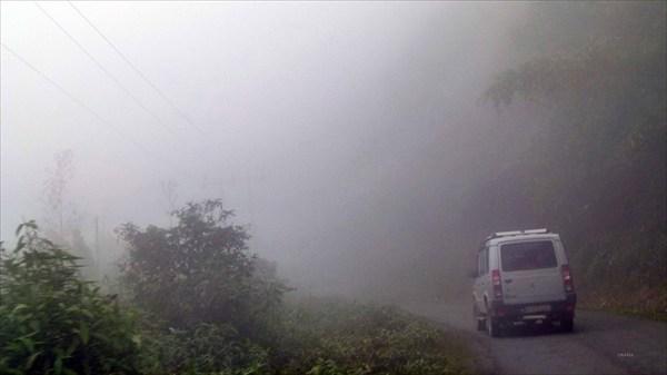 По дороге в Бана Кэмп (дорога через тучи)
