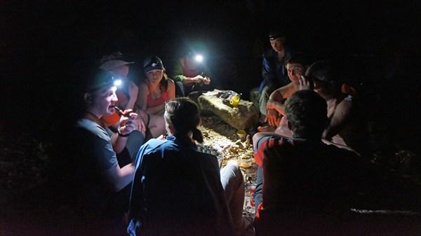Река Каменг (вечер)