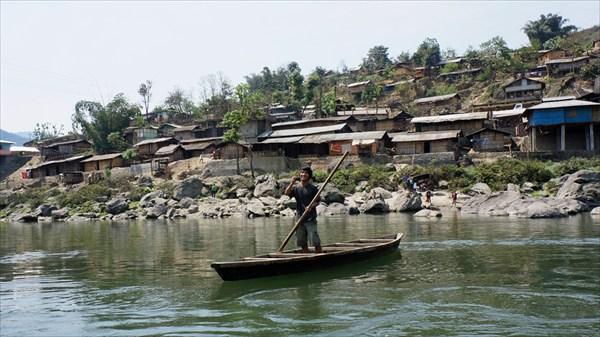 Река Каменг (город Сеппа)