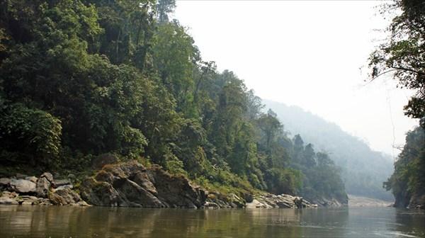 Река Каменг, каньон ниже Бичёма