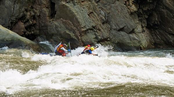 Река Каменг (пороги)
