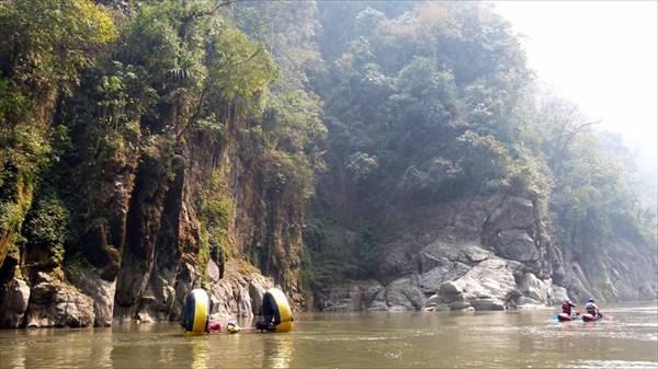 Река Каменг (второй каньон)