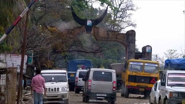 Бхалукпонг. Граница штата Аруначал Прадеш.
