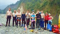 Команда. Река Каменг ( Бхалукпонг)