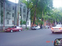 Одна из улиц Душанбе.