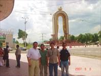 Участники маршрута в Душанбе.