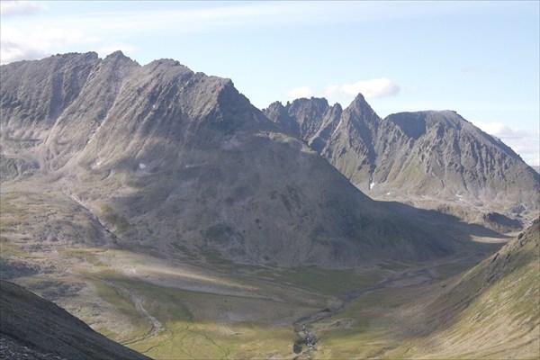 Пики над ледником Чернова