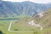 На перевале Чике Таман
