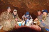В пещере Большая Орешная