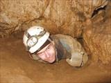В пещере Большая Прямухинская