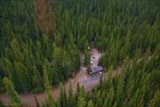 Backcountry campground near Lake O