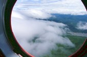 Уходим в облака, через перевал к реке Уда.
