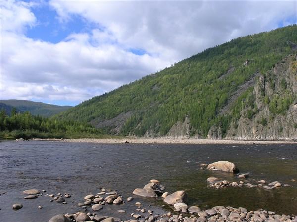 Устье притока Хайкан.