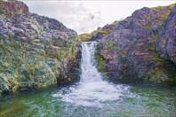 Большой водопад-город Воркута