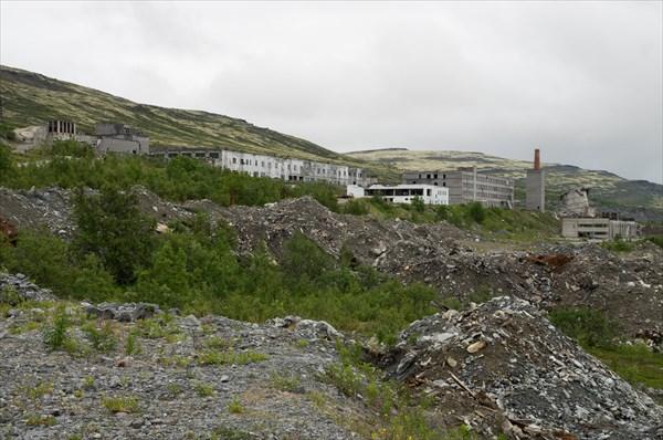 Заброшенный рудник Умбозёрский
