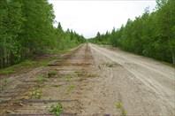 Разобранная железная дорога