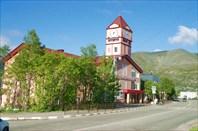 Здание музея - бывшая пожарная часть