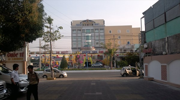 Отель в Камау, где не говорят по-английски.