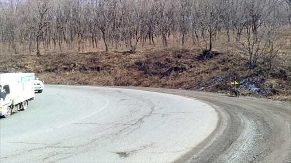 Дорога на перевал Шкотовский