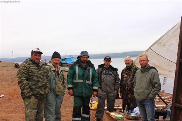 Дружная команда плота из Кемерово